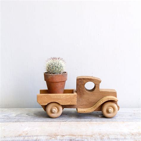 Handmade Wooden Toys Plans - vintage handmade wooden truck by ethanollie on etsy