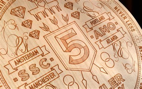 FPO: 5th Anniversary Laser Etching