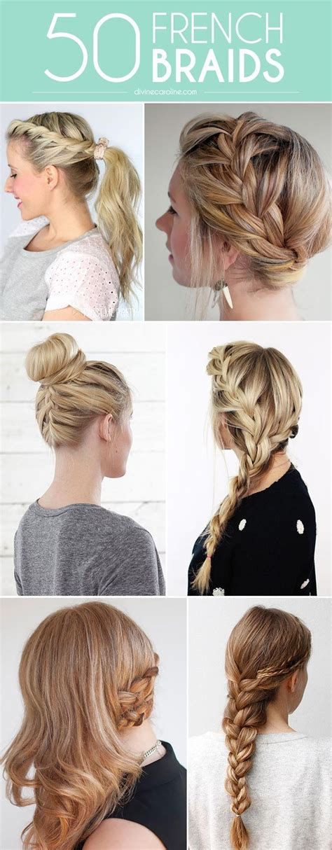 french braid bun on empire 50 fabulous french braid hairstyles to diy sexy high