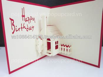 birthday 3d card template house happy birthday 3d greeting card buy greeting card