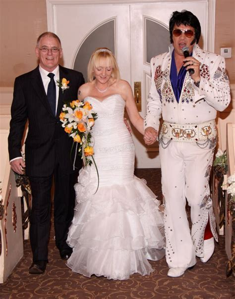 "Elvis followed us up the aisle, at the end he said ""come"
