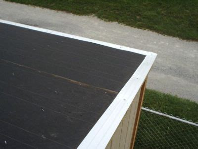 drip edge   shed roof