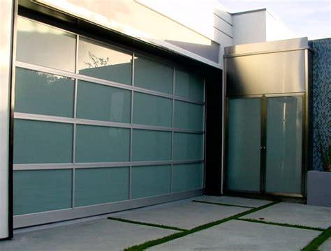 Garage Door With Glass Glass Garage Doors