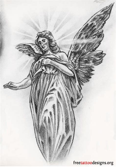 guardian angel tattoo design the world s catalog of ideas