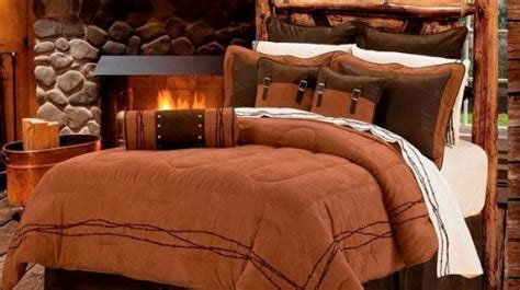 discount western bedding western rustic tan barbwire bedding set 7pc super king