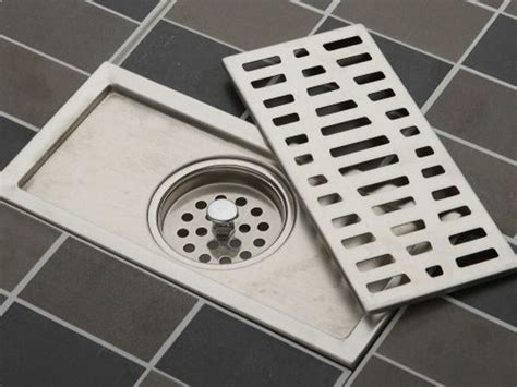 Emergency Floor Drain by When You Want Things To Go The Drain
