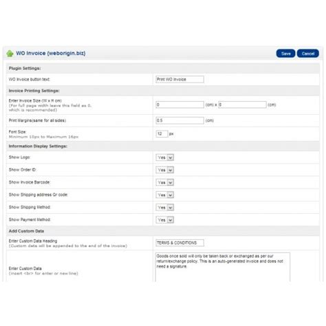 change invoice layout in opencart opencart invoice pro new
