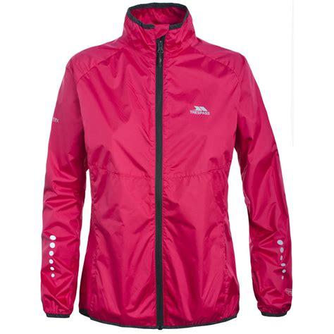 hi vis winter cycling jacket trespass womens hybrid hi vis breathable cycling