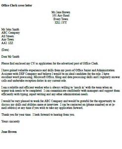 office clerk cover letter example icover org uk