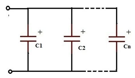 how to connect capacitor in parallel working of capacitors in series and parallel circuits