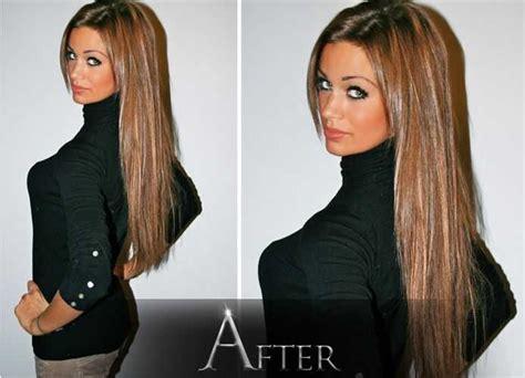salon coiffure extension cheveux balayage cheveux avant apres