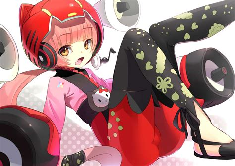 Headset Nekomimi wallpapers 1920x1440 headphones vocaloid helmet hair speakers headset