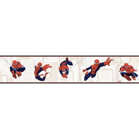 Lego Wall Mural boys will be boys ultimate spiderman border wallpaper