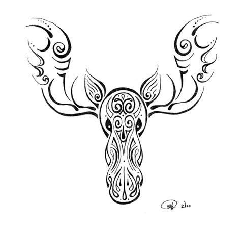 moose tattoo designs moose flickr photo