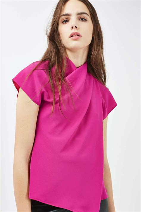 Origami Blouse - origami wrap blouse topshop