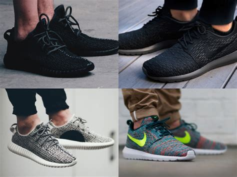 Nike Yeezy Boost nike roshe run vs yeezy boost 350 low without a doubt