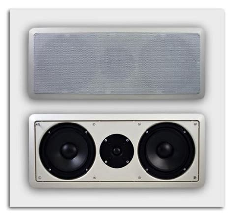 Ceiling Center Channel Speaker by In Wall Ceiling Speakers Acoustic Audio Cc6 Home Theater