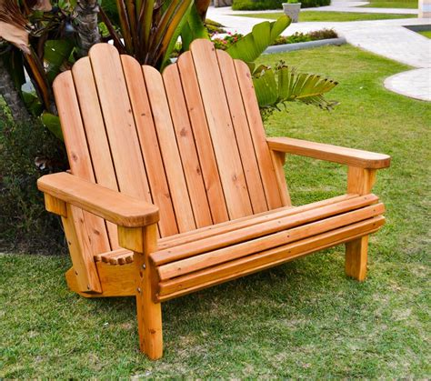 adirondack loveseat adirondack loveseat adirondack chairs forever redwood