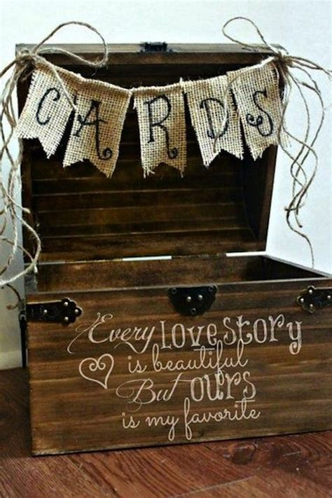 Wedding Card Box Quotes by Wedding Quotes Rustic Wooden Wedding Gift Card Box Ideas