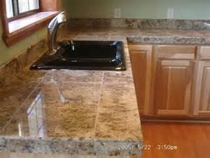 tile countertop ideas kitchen 25 best ideas about tile kitchen countertops on
