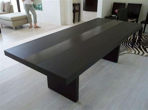 handmade modern dining table  bedre woodworking