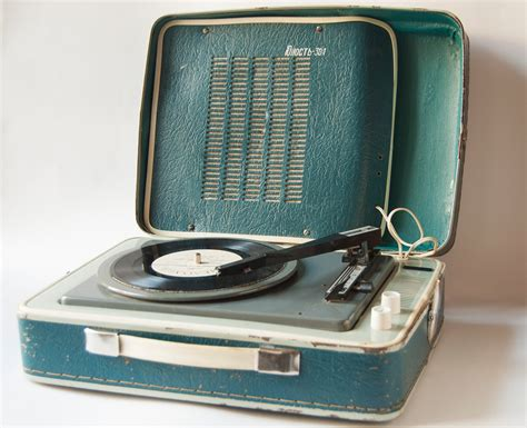 old record player soviet vintage portable record player 3 speed rare record