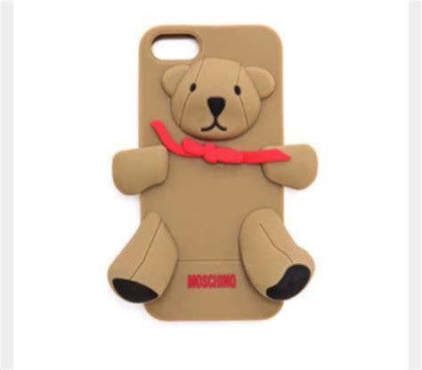 Moschino Teddy Iphone phone cover iphone moshino moschino teddy teddy
