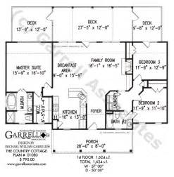 Country Cottage Floor Plans Country Cottage House Plan House Plans By Garrell Associates Inc