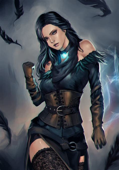 witcher 3 yennefer alternate look witcher 3 yennefer alternative costume by phamoz on