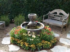 Southwestern Decorating Ideas Front Yard Fountain Takes The Best Water Feature For