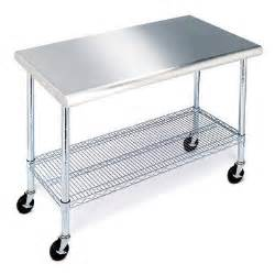 Sams Club Table Member S Mark Work Table With Stainless Steel Top 49