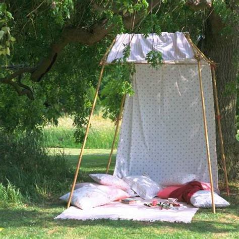 easy to make outdoor decorations 20 diy outdoor curtains sunshades and canopy designs for