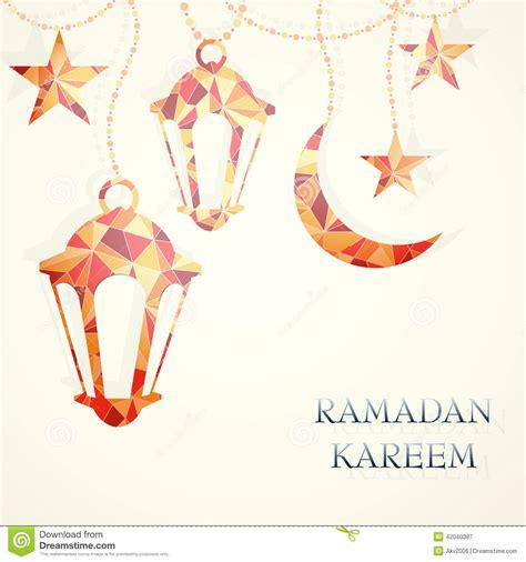 ramadan card templates ramadan greeting card template stock vector image 42040387
