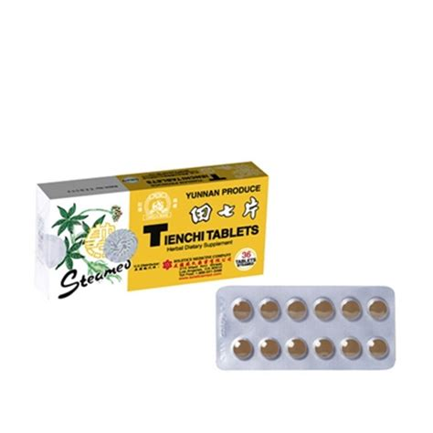 Tienchi Ginseng Tablets steamed tienchi tablets for a healthy