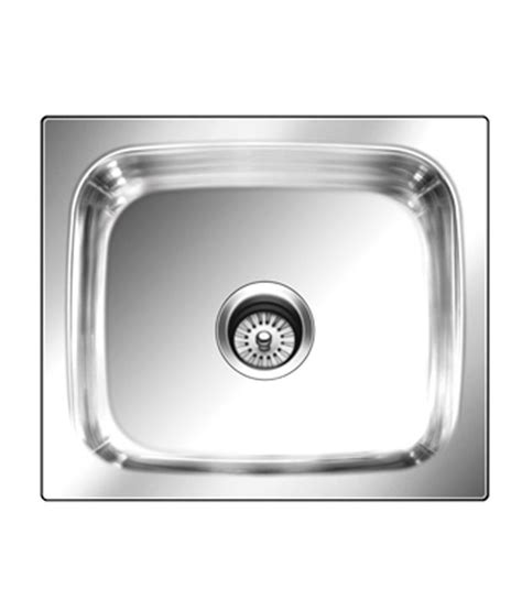 Nirali Kitchen Sinks Buy Nirali Kitchen Sink Single Bowl Grace Plain Small Anti Scratch At Low Price In India