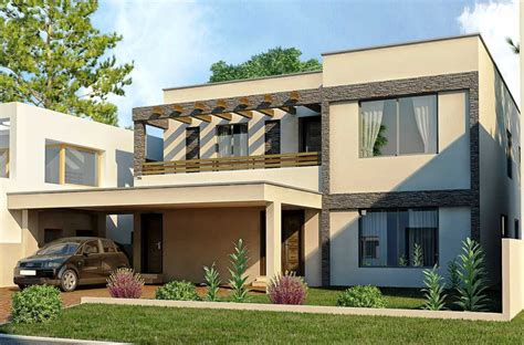 contoh gambar desain eksterior rumah sederhana minimalis modern dan rumah mungil desain