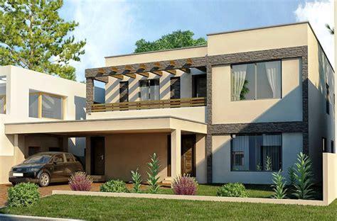 contoh gambar desain eksterior rumah sederhana minimalis modern  rumah mungil desain