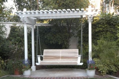 free pergola swing plans diy plans pergola with swing plans free