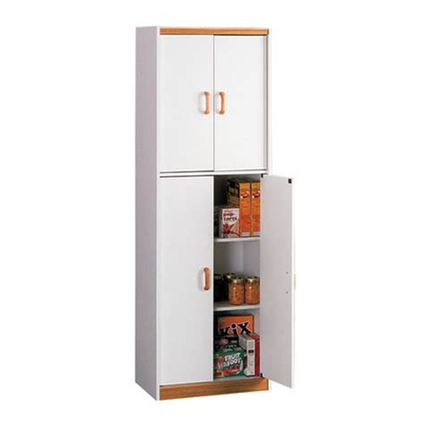 Dorel Pantry dorel home furnishings white deluxe pantry with oak trim