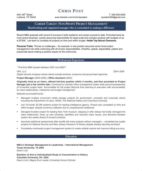 project manager resume project manager resume sle 2016 ready for you resume