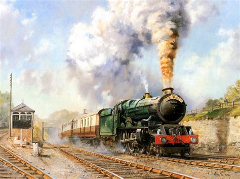 Painting By Artist Free Picture Gt Railroad