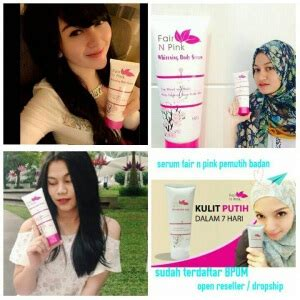 Review Fair N Pink Serum Indonesia jual fair n pink murah review harga testimoni