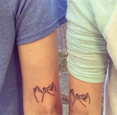 matching lesbian tattoos best friend tattoos on