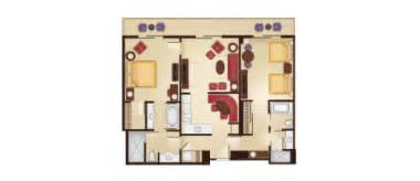 Grand Floridian 2 Bedroom Villa Floor Plan by Villas At Disney S Grand Floridian Dvc Rental Store