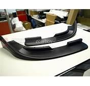 Universal Front Body Kit Lip Canards Flippers Splitters