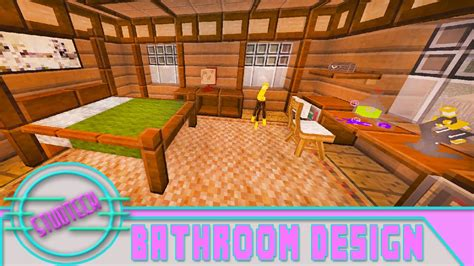 how to decorate a bedroom in minecraft minecraft modded house bedroom design tutorial