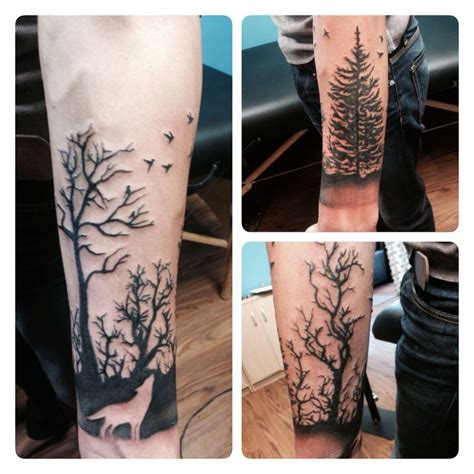 tree half sleeve tattoo best 25 tree sleeve ideas on