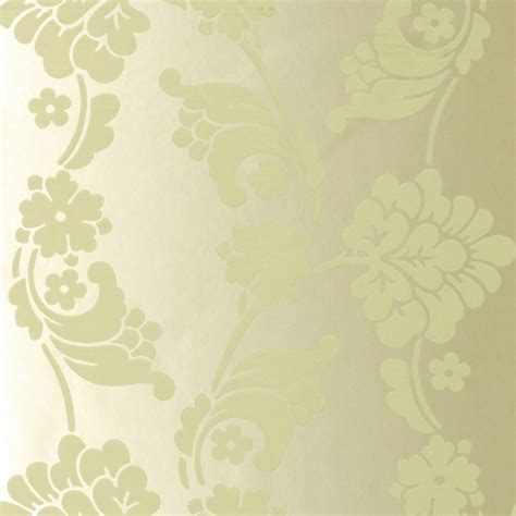 Green Jacquard Wallpaper | velvet jacquard olive green at10094 wp014