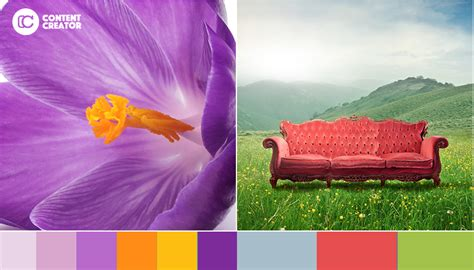 purple and orange color scheme picking a color palette 5 beautiful ideas for your next