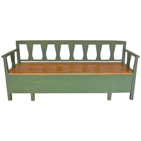 bench daybed 19th century swedish painted bench daybed for sale at 1stdibs